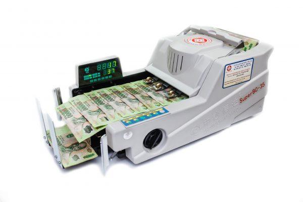 Máy đếm tiền chuyên dùng cho ngân hàng và công ty